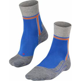 Falke RU4 The T Running Socks Men, niebieski/szary